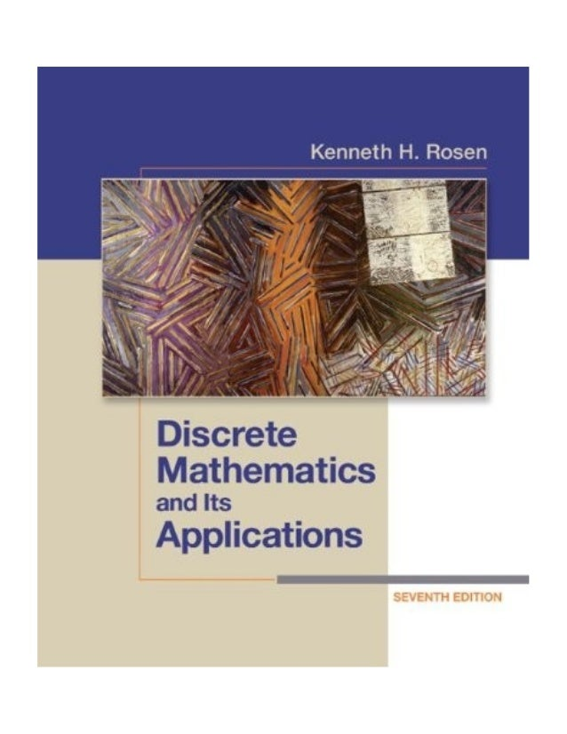 solution manual of discrete mathematics and its application by kennet rh slideshare net discrete mathematics kenneth h rosen 6th edition solution manual Discrete Mathematics Rosen 7th Solutions
