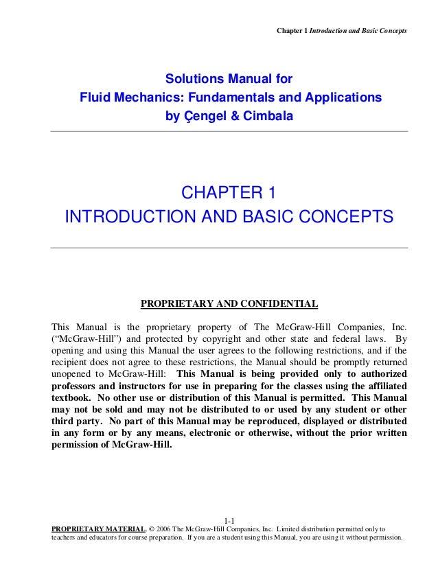 solution manual of fluid mechanics fundamentals and applications rh slideshare net solution manual fundamentals of fluid mechanics 8th edition solutions manual fundamental of acoustics