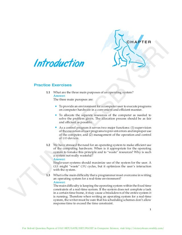 Solution Manual Of Operating System Concepts By Abraham Silberschatz