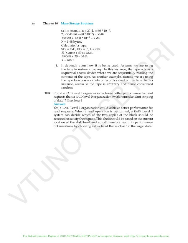 Operating system concepts Solution Manual
