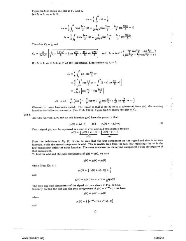 modern digital and analog communication systems 5th edition pdf