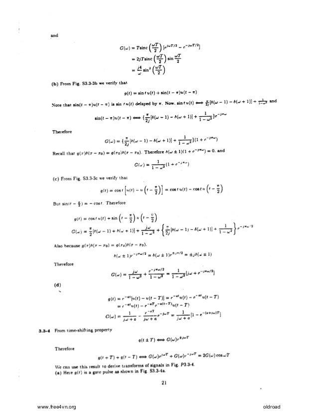 Modern Digital and Analog Communication Systems by B.P. Lathi