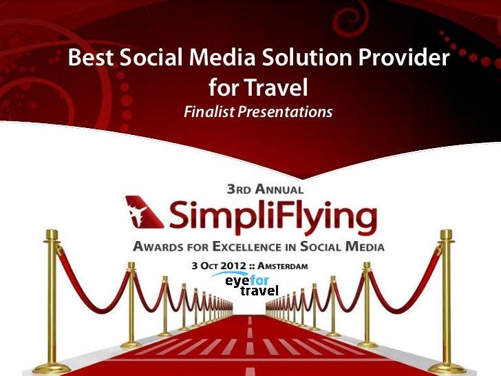 Best Social Media Solution Provider  Best Airlines Driving Revenue         from Social Media             for Travel       ...