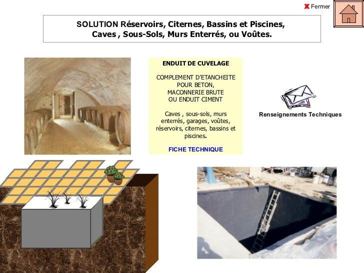 Les solutions arcane pour l 39 tanch it de votre maison - Etancheite jardiniere beton ...