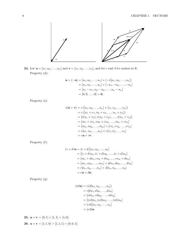 Solutions Manual for Linear Algebra A Modern Introduction