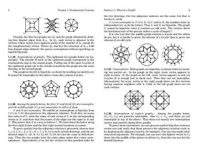 5  Chapter 1: Fundamental Concepts  u1 •  v2•  v4 u 2 • •  • • u 3 v1  v •3  • u4  u 1•  •v1  u 3•  •v3  u 2•  •v2  u 4•  ...