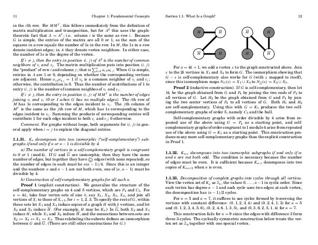 11  Chapter 1: Fundamental Concepts  in the i th row. For M M T , this follows immediately from the definition of matrix mu...