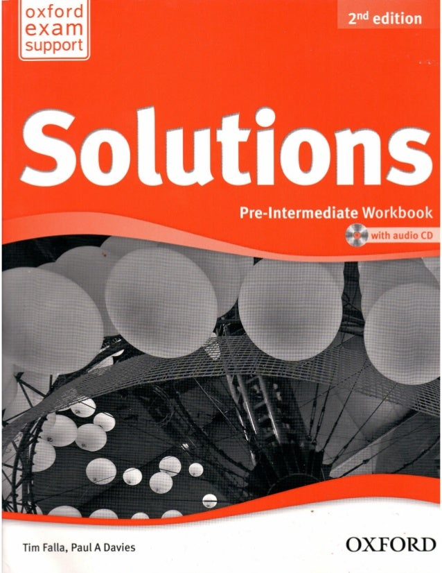 Solutions 2nd ed   pre-int - wb