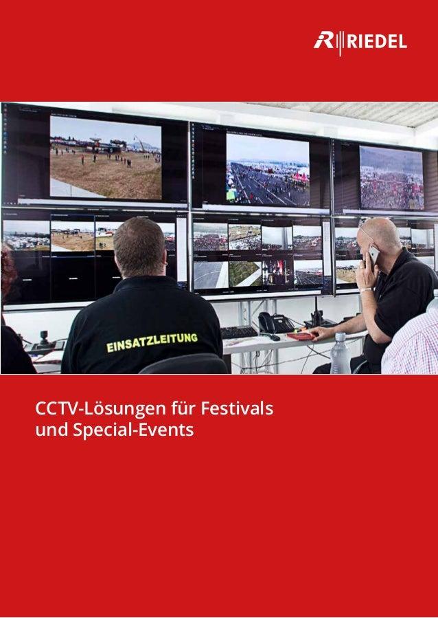CCTV-Lösungen für Festivals und Special-Events
