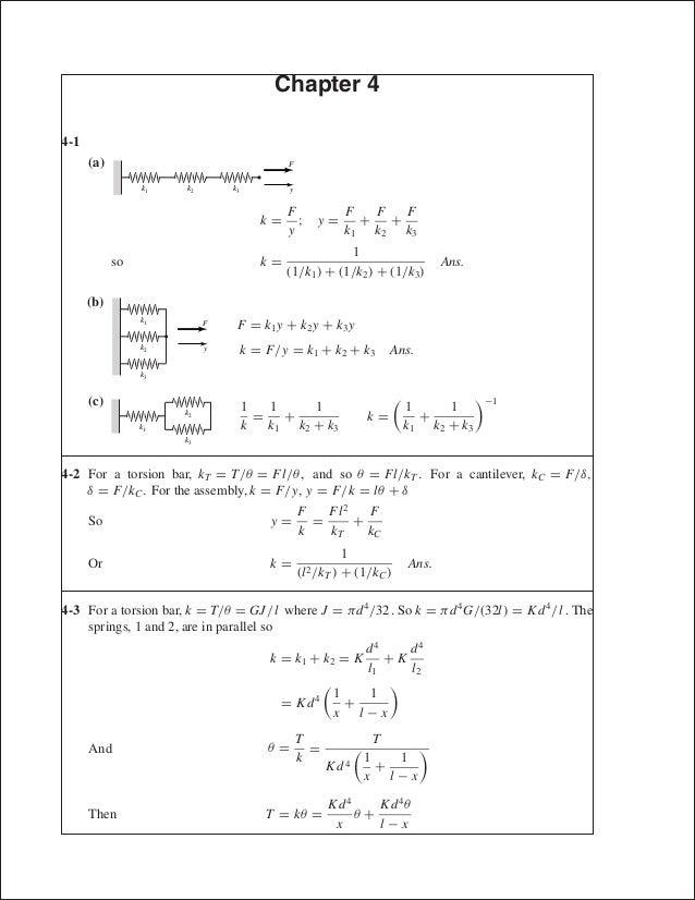 solutions completo elementos de maquinas de shigley 8th edition rh slideshare net shigley's mechanical engineering design solution manual pdf shigley's mechanical engineering design solution manual