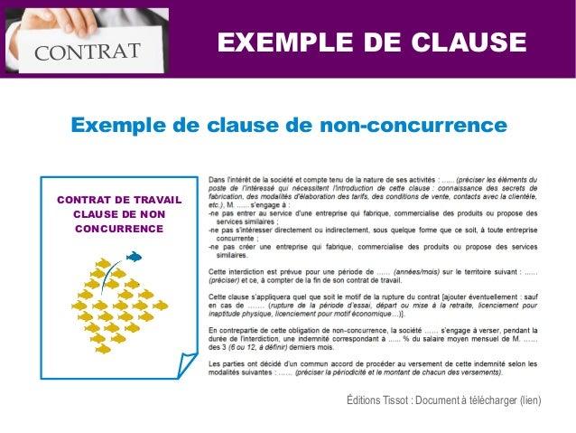 modele contrat de travail avec clause de non concurrence 7 Solutions pour renforcer le contrat travail modele contrat de travail avec clause de non concurrence