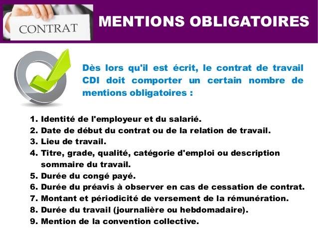 7 Solutions pour renforcer le contrat travail