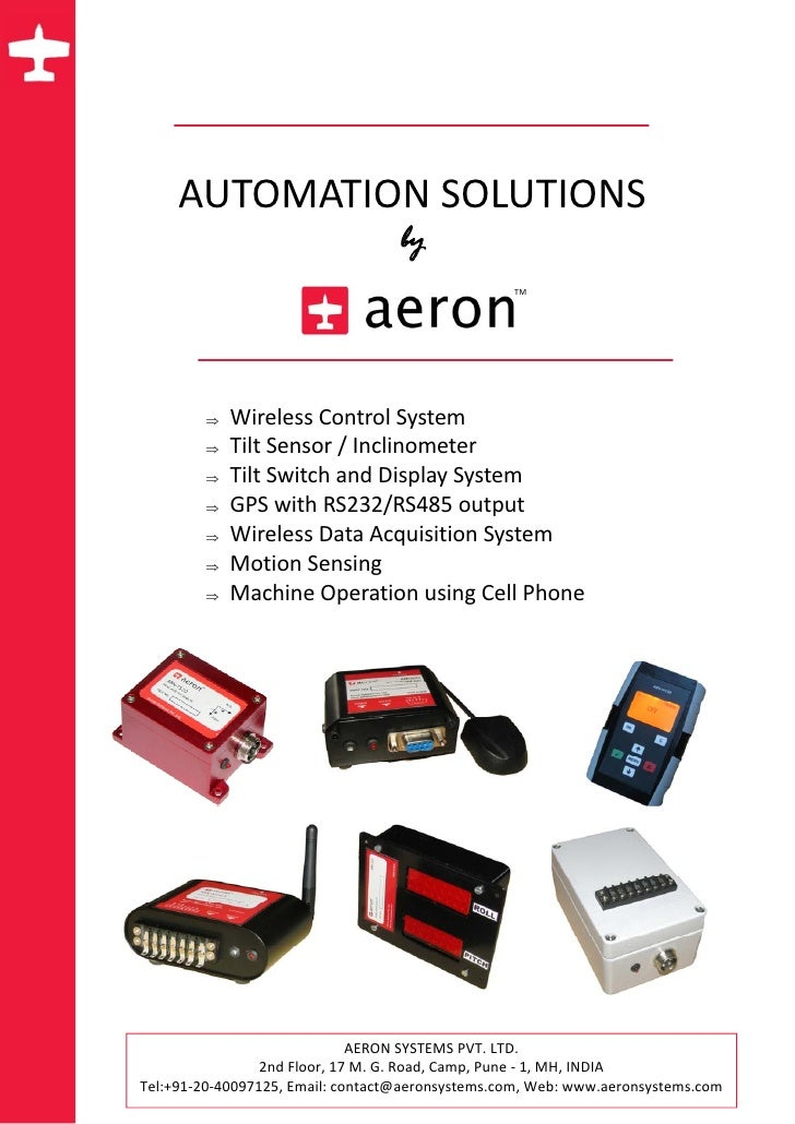 AUTOMATIONSOLUTIONS                                        by                                          ...