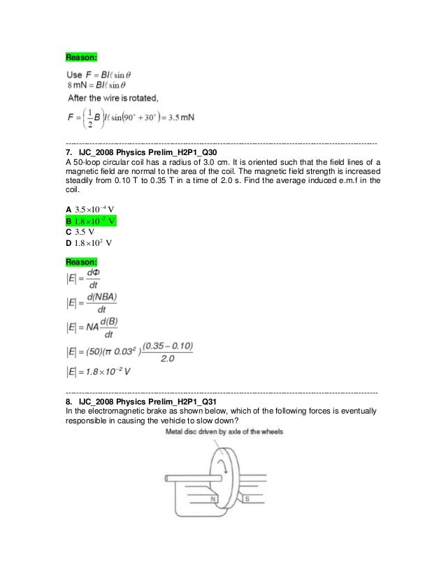 magnetic field problems and solutions pdf