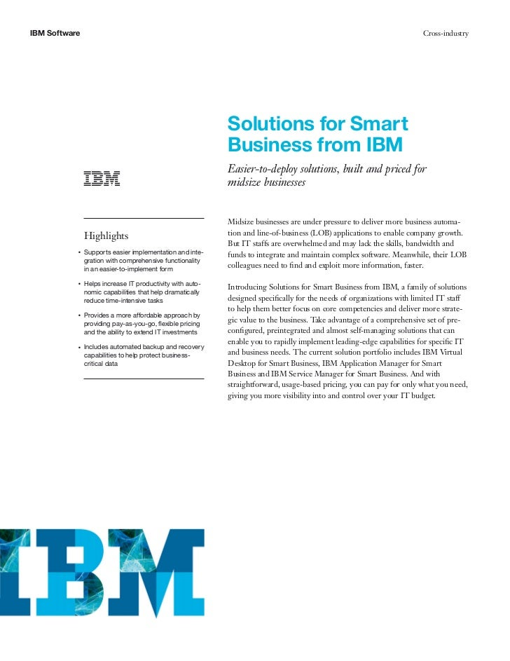 IBM Software                                                                                                          Cros...