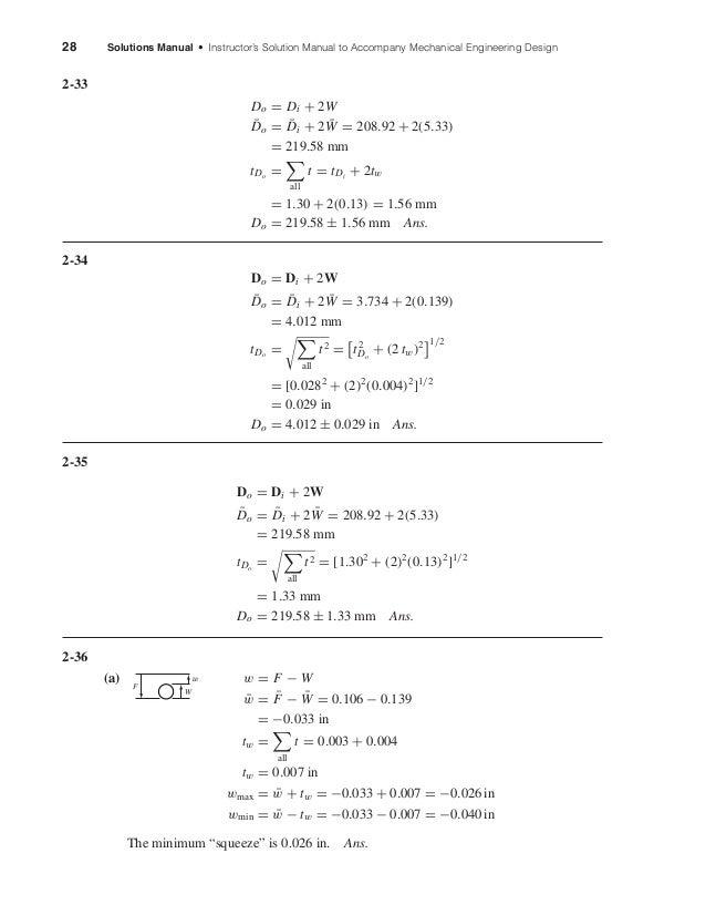 solution shigley s rh slideshare net shigley 8th edition solution manual free pdf shigley's mechanical engineering design 9th edition solutions manual pdf