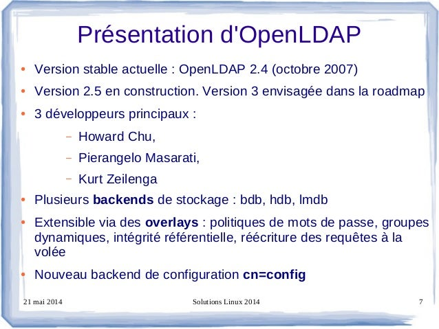 Chapter 6 OpenLDAP slapd.conf database bdb and hdb