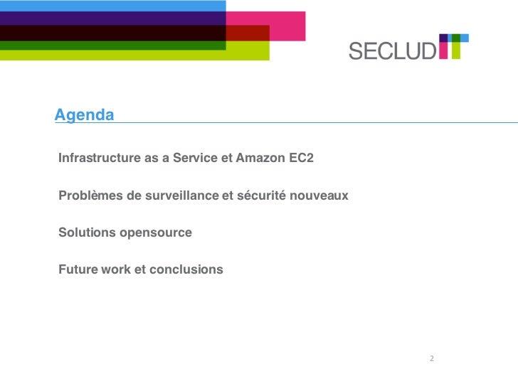 Solutions linux ec2 surveillance Slide 2