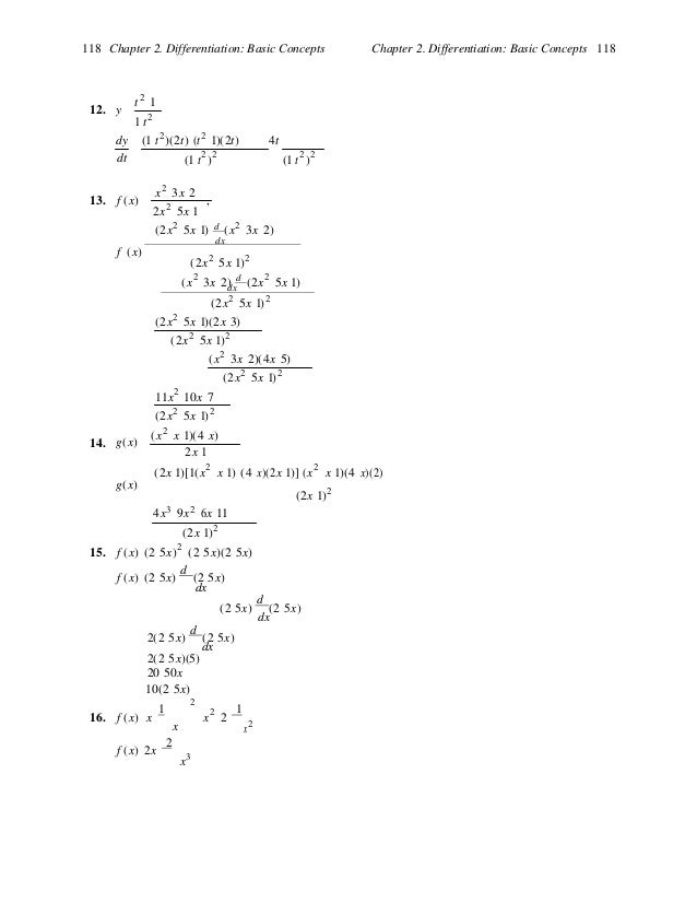Solutions Manual For Calculus For Business Economics And The Social A…