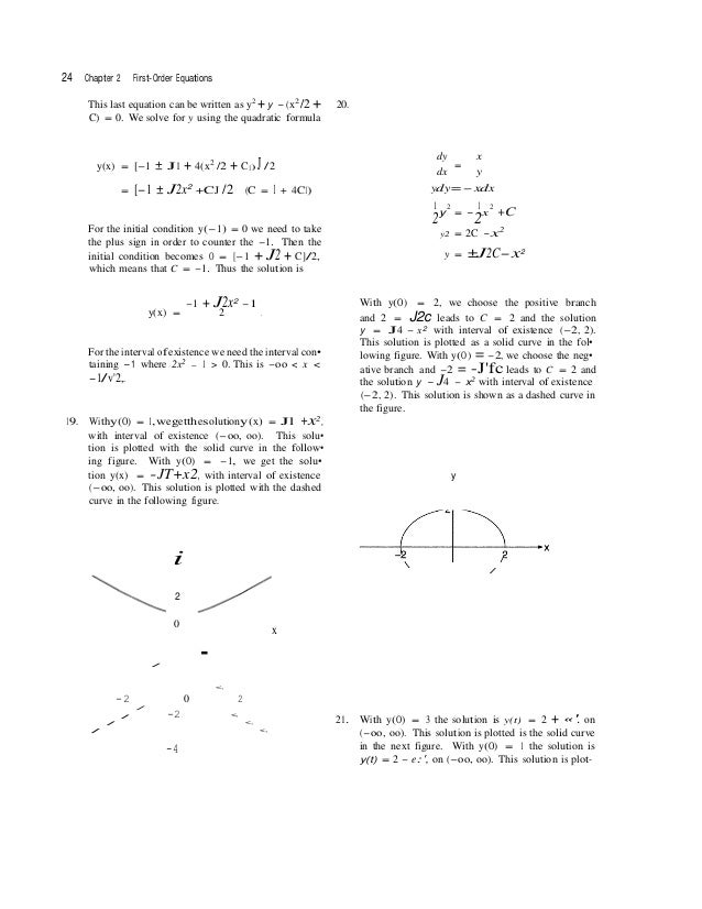 Solutions manual for differential equations with boundary value probl 15 fandeluxe Gallery