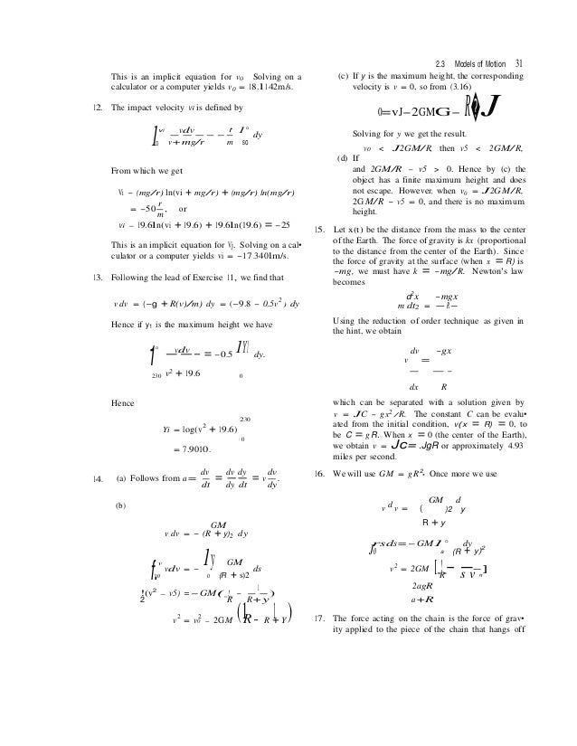 Solutions manual for differential equations with boundary value probl 23 fandeluxe Gallery