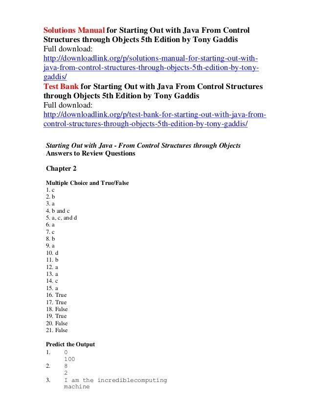 Homework solutions for gaddis java 5 analysis essay writing service uk