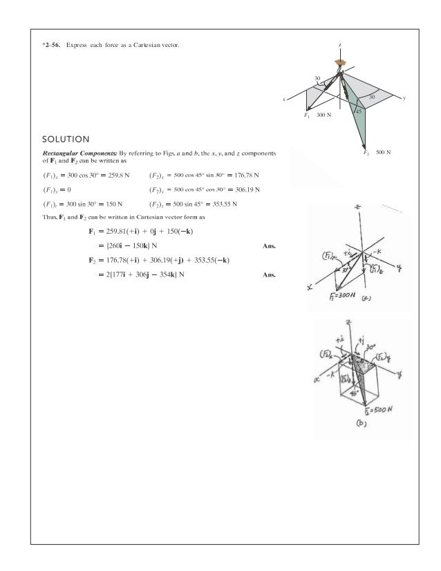 Solutions manual for statics and mechanics of materials