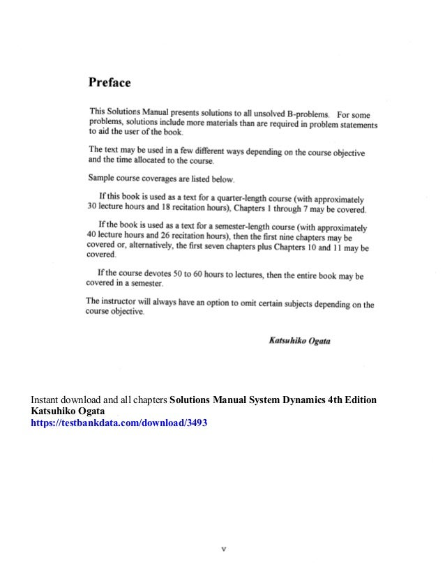 Ogata pdf dynamics edition system 4th