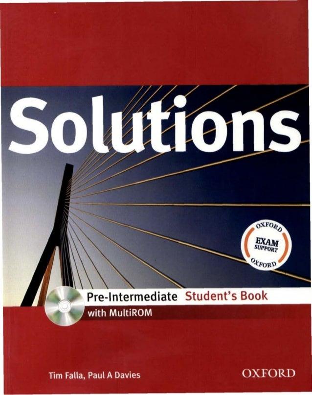 Solutions pre intermediate-sb.