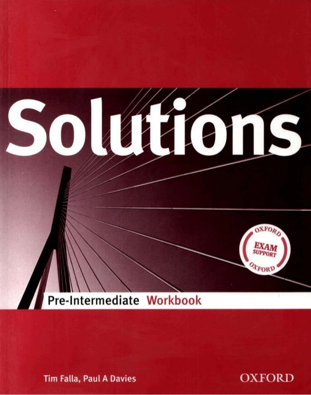 Решебник solutions pre-intermediate