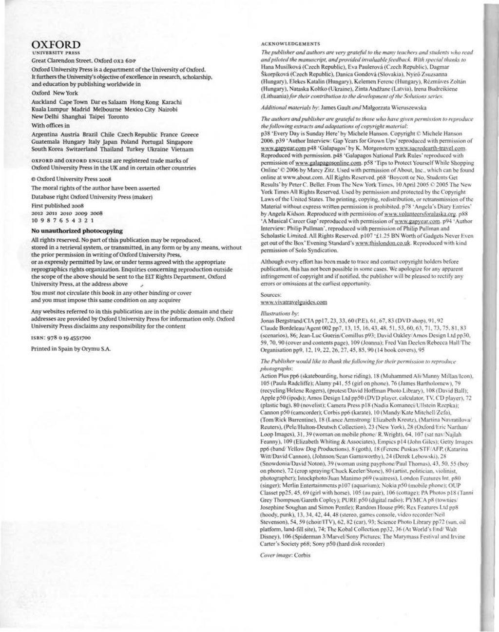 Solutions pre intermediate-wb