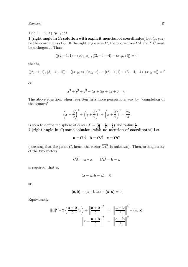 solutions to apostol analysis problems vol 2 rh slideshare net