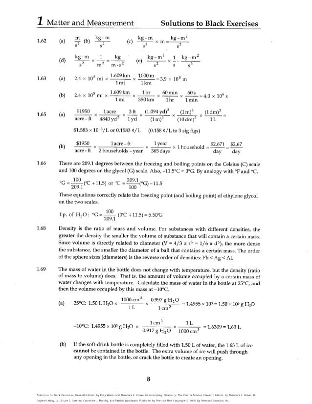 Solutions to black exercises the central science 11th edition by t fandeluxe Image collections