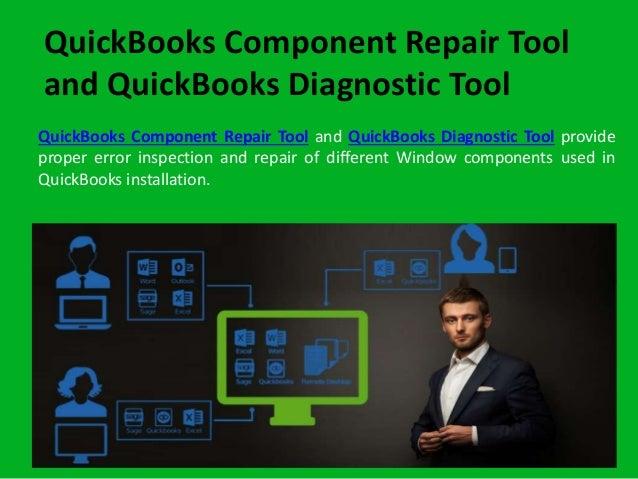 QuickBooks Component Repair Tool and QuickBooks Install