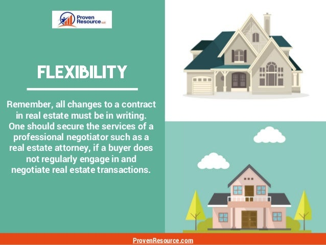 ProvenResource.com In today's relatively robust real estate sales market, one has to ask why a property isn't sold on the ...