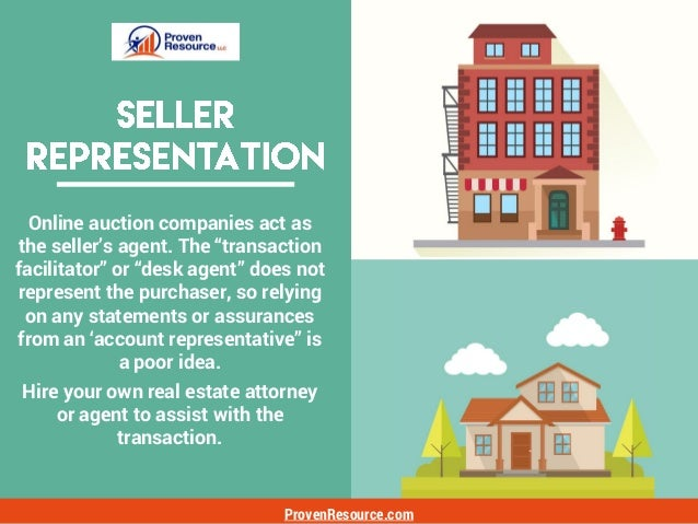 ProvenResource.com Auction purchase agreements are notoriously one-sided, with most rights and discretion to act or not, v...