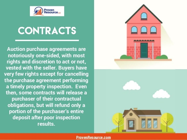 ProvenResource.com If one is unsure of the impact of certain contract provisions, then have the contract reviewed by your ...