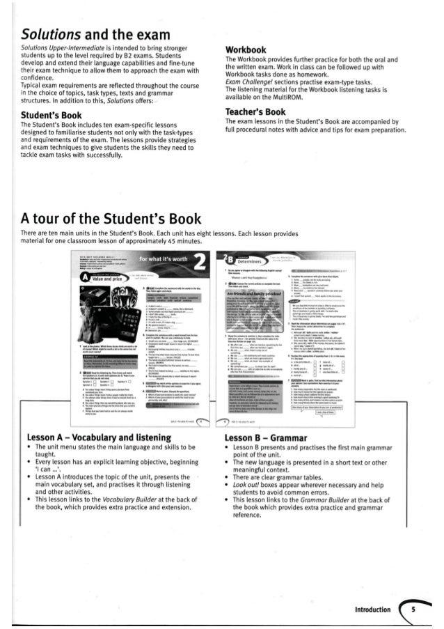 Solution Pre Intermediate Teachers Book