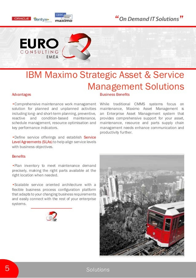 Maximo Asset Management Industry Solutions