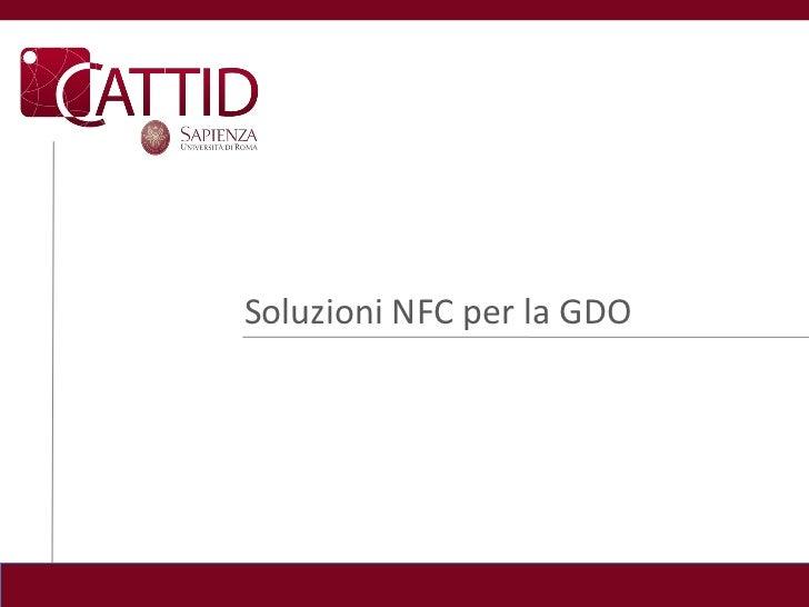 Soluzioni NFC per la GDO