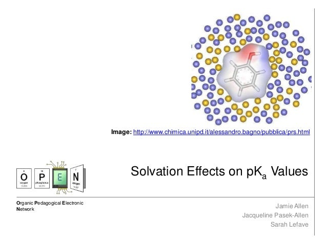 Solvation Effects on pKa Values
