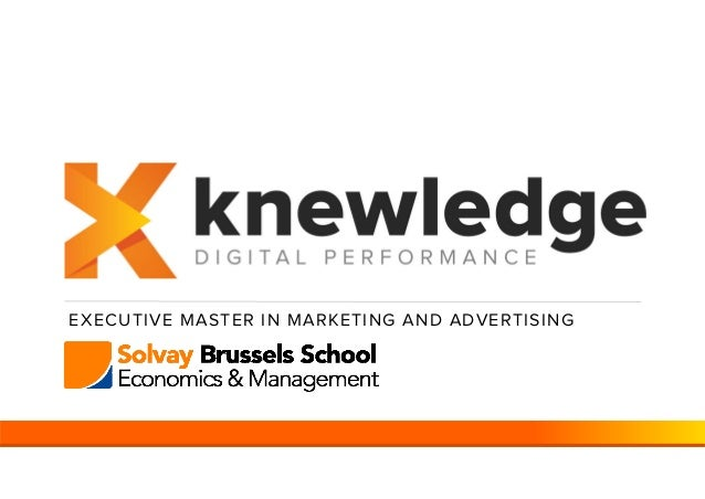 EXECUTIVE MASTER IN MARKETING AND ADVERTISING
