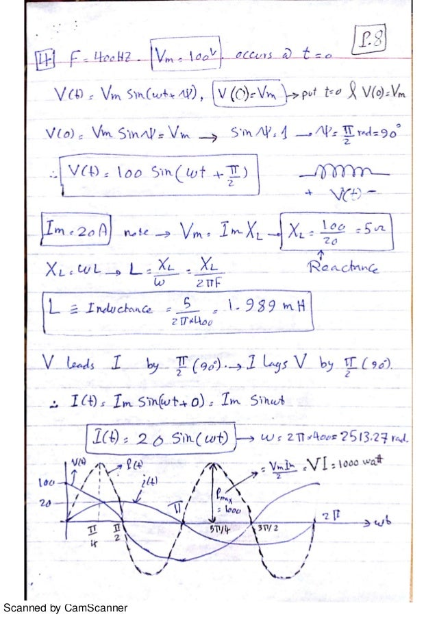 electrical circuits solved problems pdf