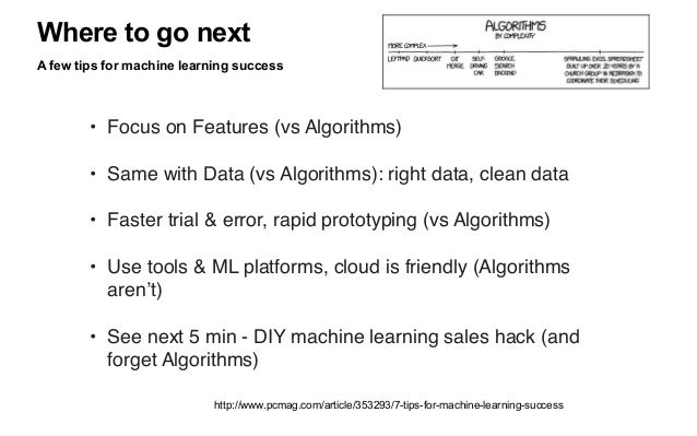 √ Sales Hacking with Machine Learning DIY practical example: WHAT A practical sales hack using machine learning to identif...