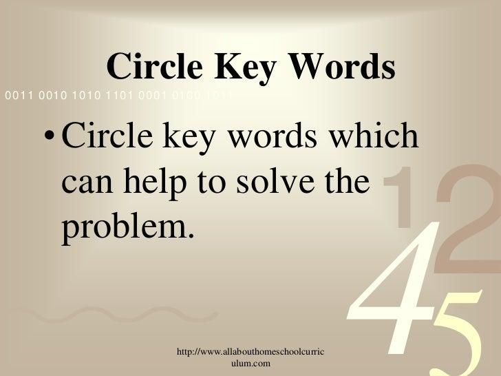 Solve Math Word Problems