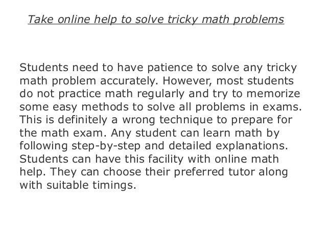Maths Questions Online - Yourhelpfulelf