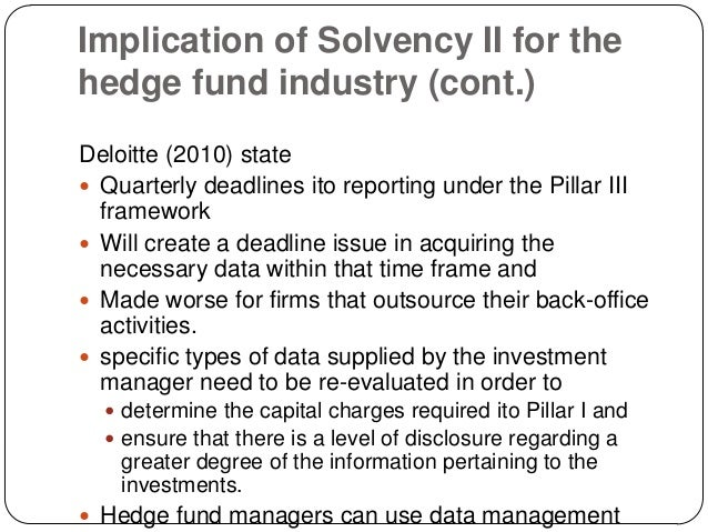 Solvency Ii Study Notes