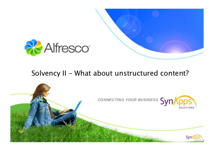 Solvency II – What about unstructured content?