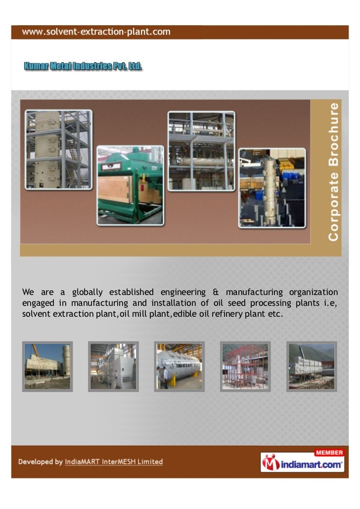 We are a globally established engineering & manufacturing organizationengaged in manufacturing and installation of oil see...