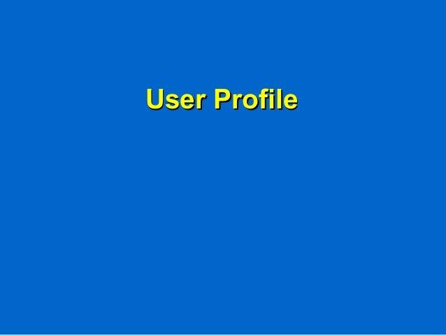 User ProfileUser Profile